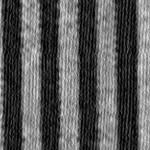 Stripes Narrow Black & Silver