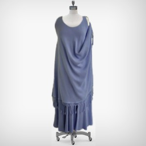 Magic Dress Sleeveless with Fringe – one-side wearing